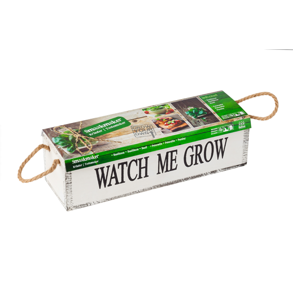 Watch me grow - Smaakmaker