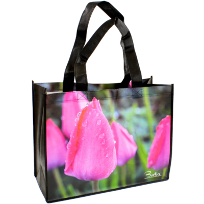 Shopping bag Pink Tulip