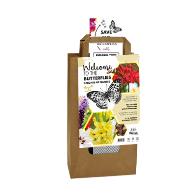Natural giftbag - Butterflies